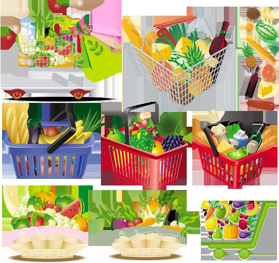 рисунок полезная еда для детей